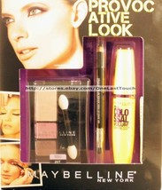 MAYBELLINE* 3pc PROVOCATIVE LOOK Eye Shadow+Eyeliner+Mascara PERFECT PAS... - $10.60