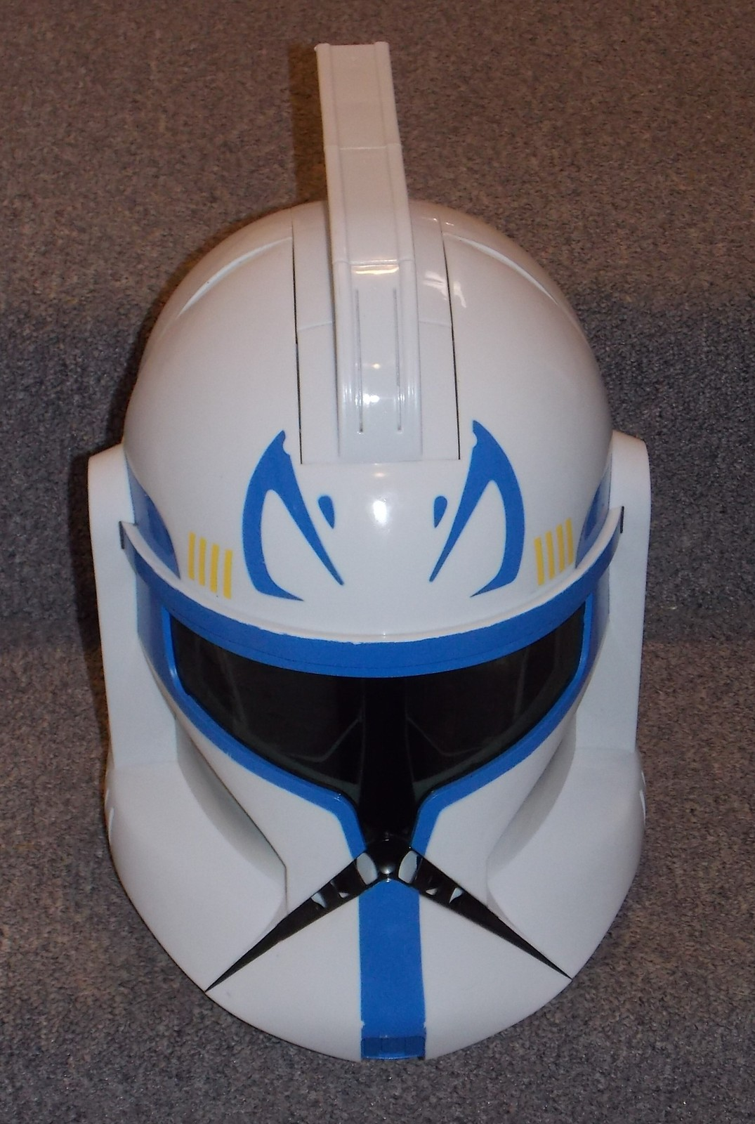 Primary image for 2008 Star Wars Clone Trooper Captain Rex Electronic Talking Helmet Sounds Great