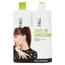 Paul Mitchell Super Enge Shampoo, Haarspülung Behandlung Liter Duo - $67.39+