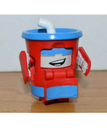 Transformers BOTBOTS THE FIZZ Mini Action Figure Hasbro Drink Cup Renegades - $17.32