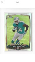 Jarvis Landry RC 2014 Topps Chrome #177 Cleveland Browns $15 Million $ M... - $1.99