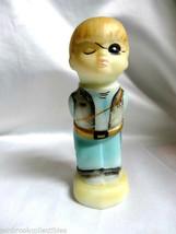 Fenton Art Glass Hand Painted Halloween Boy Captain Kid Figurine 513872 - $44.99
