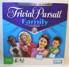 "Trivial Pursuit ""Celebrating 25 Years Anniversary"" Family Edition COMPLETE - $12.43"