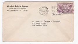 CLEVELAND HEBREW MISSION CLEVELAND OHIO NOVEMBER 15 1936 - $1.78