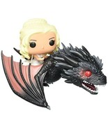Funko Pop Dragon Daenerys Game Of Thrones Action Vinyls Figures Small Gi... - $50.51
