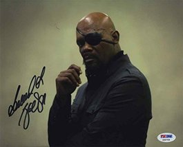 Samuel L Jackson Avengers Signed 8x10 Photo Certified Authentic PSA/DNA COA - $395.99