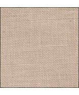 FABRIC CUT 32ct creme brule linen 9x14 R&R Lovely Home cross stitch CCN - $10.00