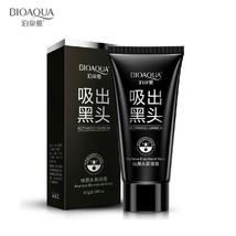 BIOAQUA Deep Cleansing Black Mud Face Mask Blackhead Remover Peel Acne T... - $4.89