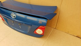 09-10 Toyota Corolla S Trunk Lid W/ Spoiler & Taillights image 2