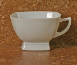 Prelude White Tea Cup & Saucer By J.L. Coquet - $89.00