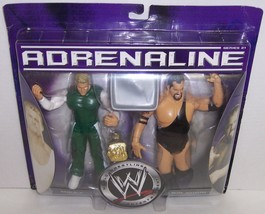 "NEW! 2006 Jakk's Adrenaline ""Mikey"" & ""Big Show"" Action Figure Set WWE [... - $44.54"