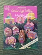 1993 American School Of Needlework The Easter Egg Village Pattern #3120 - $12.95