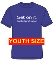 2019 Bootie Bandwagon Youth T-Shirt Solid Purple - $15.00