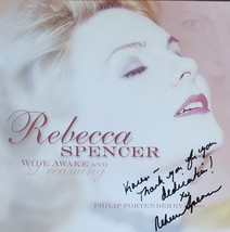 "Rebecca Spencer ""Wide Awake and Dreaming"" Autographed CD - $14.95"