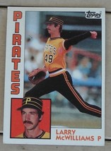Larry McWilliams, Pirates, 1984 #668 Topps Card, VG COND - $0.99