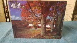 Guild 1000 Piece Puzzle Autumns Touch SEALED - $9.88
