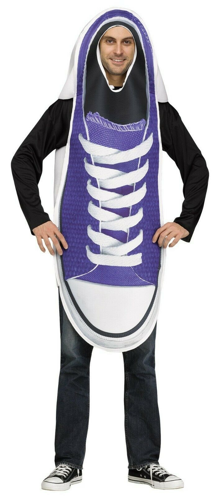 Fun World Pair of Sneakers Shoes Funny Adult Couples Halloween Costume 112514