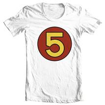 Mach 5 Speed Racer T-shirt retro 1970s Saturday cartoon 100% cotton tee SPD114 image 2