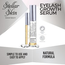 Eyelash Growth Serum From Stellar Skin. Best Enhancer For Long, Full, Th... - $14.99