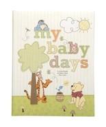 Disney Pooh My Baby Days Memory Book - $49.39