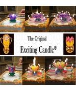 1 Rainbow + 1 Purple  Amazing Lotus Flower Music Happy Birthday EXCITING... - $14.99