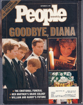 People Magazine September 22, 1997 Goodbye, Diana - $2.50
