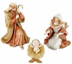 Lenox Little Town Of Bethlehem Holy Family Nativity 3 Piece Figurine Set... - $196.90