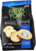 New York Style Bagel Crisps, Plain, 7.2 oz - $11.99