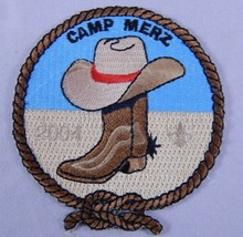2004 Boy Scouts Camp Merz Allegheny Highlands Council Patch Chautauqua Lake BSA  - $9.79