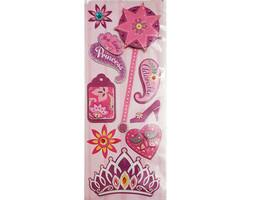 My Little Princess Glittered Dimensional Sticker Set