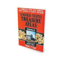 United States Treasure Atlas Volume 5 ~ Lost & Buried Treasure - $29.95
