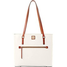 Dooney & Bourke Large Pebble Tote White Purse Handbag