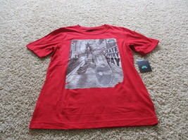 BNWT Nike short sleeve crew neck boys tee, red, size L(12-1Y), 100% cotton - $15.00