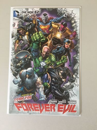 Forever Evil (2013 DC) #1 1NYCC New York Comic Con Edition New 52 NM Near Mint