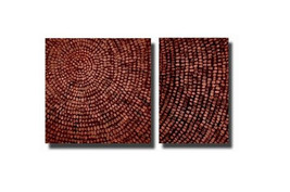 Basket Weave Canvas Wall Art - $158.00