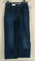 Oshkosh B'gosh Boys Size 10H Classic Blue Jeans Dark Wash Adjustable Waist  - $16.99