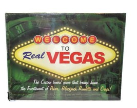 Welcome To Real VEGAS Casino Board Game Poker Blackjack Roulette Craps NEW - $15.38