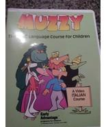 Muzzy BBC Italian Level 1 Language Course for Children VHS Cassette Tapes ¥ - $14.84