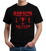 Hawkins Middle School A.V. Club T-Shirt - $24.95