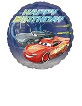 "Amscan 3536601 ""Standard C Cars Happy Birthday Balloon - $2.56"