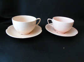 2 Johnson Brothers ROSEDAWN Coffee/Tea Cup & Saucer Sets - $14.99