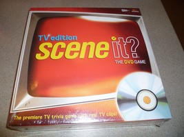Scene It TV Edition Game - Brand New - Ages 10-Adult - Premiere TV Trivi... - $18.23
