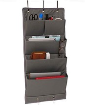 AlexBasic Over the Door Fabric File Organizer Wall Mounted Hanging Organ... - $17.46