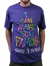 Famous Stars & Straps Black or Purple Fame Bones I Can Make You Famous T-Shirt image 4