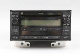 03 04 05 06 07 08 09 TOYOTA 4RUNNER AM/FM RADIO CD PLAYER RECEIVER OEM - $84.14