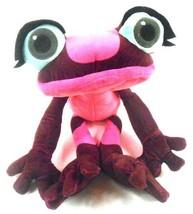 "Kohls Cares Gabi the Hot Pink Poison DART Frog PLUSH Rio 2 Toy 2014 15"" ... - $9.89"