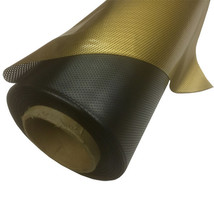 "36"" x 25 ft Dot Matrix Static Cling Perforated Graphic Window Film - Gold - $130.95"