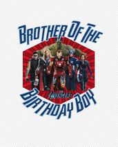 Brother of the Birthday Boy The Avengers Birthday Iron On Transfer Insta... - $3.95