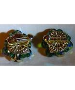 LOVELY Vintage 1957 Vendome Coro Aurora Borealis Crystals Goldtone Clip ... - $85.00