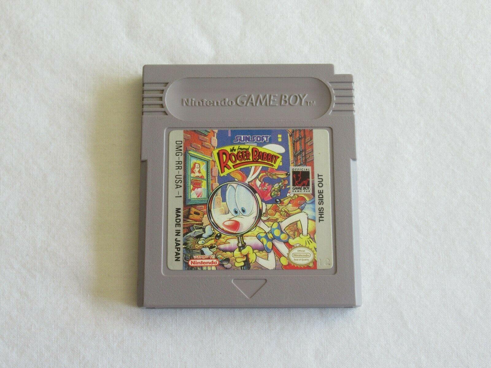 Who Framed Roger Rabbit (Nintendo Game Boy, 1991) Tested and Works image 2